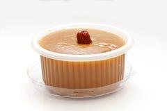 Torta de arroz china del Año Nuevo en el fondo blanco Imagen de archivo libre de regalías