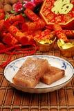 Torta de arroz de la haba roja Imagen de archivo