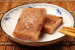 Torta de arroz de la haba roja Fotos de archivo