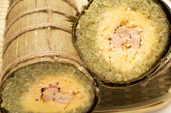 Torta de arroz pegajoso vietnamita Imagen de archivo