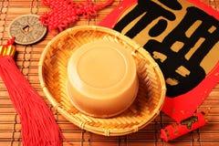 Torta de arroz por Año Nuevo chino Fotos de archivo libres de regalías