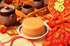 Torta de arroz por Año Nuevo chino Imagen de archivo