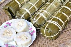 Torta de arroz tradicional de Vietnam Fotos de archivo