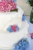 Torta de boda Fotografía de archivo libre de regalías