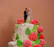 Torta de boda Foto de archivo
