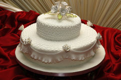 Torta de boda Imagenes de archivo