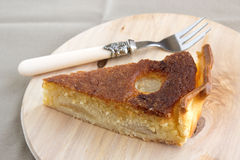 Torta de Bourdaloue Imagem de Stock Royalty Free