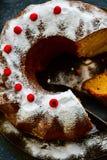 Torta de Bundt Imagen de archivo libre de regalías