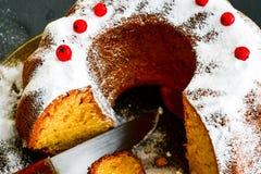 Torta de Bundt Fotos de archivo libres de regalías