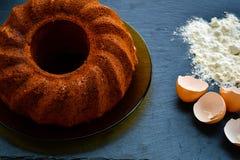 Torta de Bundt Foto de archivo libre de regalías