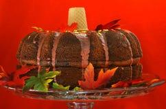 Torta de Bundt del día de fiesta Imágenes de archivo libres de regalías