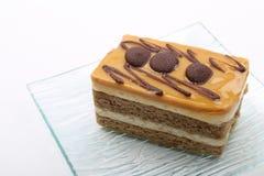 Torta de café Foto de archivo