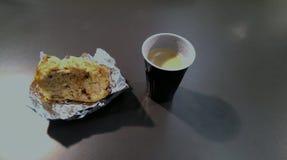 Torta de café imagenes de archivo
