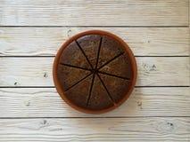 Torta de café Imagen de archivo libre de regalías