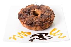 Torta de café de Apple Imagenes de archivo