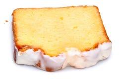 Torta de café helada del limón imagenes de archivo