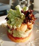 Torta de cangrejo Fotos de archivo libres de regalías
