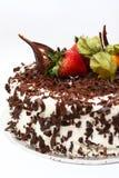 Torta de capa del chocolate Imagen de archivo libre de regalías