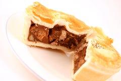 Torta de carne Fotos de Stock Royalty Free