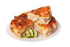 Torta de carne Imagem de Stock