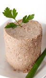 Torta de carne Fotografia de Stock