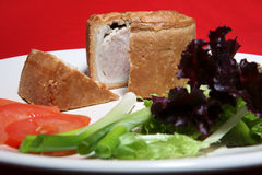 Torta de carne de porco Fotografia de Stock Royalty Free