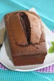 Torta de Chocolat Fotos de archivo