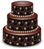 Torta de chocolate Imagen de archivo