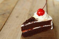 Torta de chocolate. Foto de archivo libre de regalías
