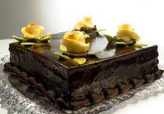 Torta de chocolate fotos de archivo libres de regalías