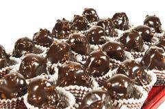 Torta de chocolate Fotografía de archivo libre de regalías