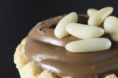 Torta de chocolate fotos de archivo