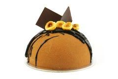 Torta de chocolate de lujo fotos de archivo