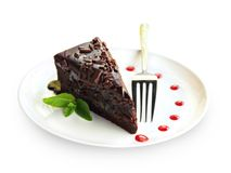 Torta de chocolate de Zacher fotos de archivo