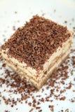Torta de chocolate deliciosa con cacao Fotos de archivo libres de regalías