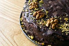 Torta de Chokolate Fotos de archivo libres de regalías