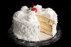Torta de coco Foto de archivo libre de regalías