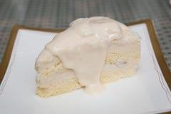 Torta de coco Imagen de archivo libre de regalías
