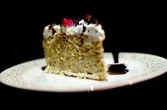 Torta de coco del plátano Fotografía de archivo libre de regalías