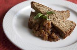 Torta de compota de manzanas Foto de archivo