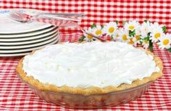 Torta de creme chicoteada Foto de Stock