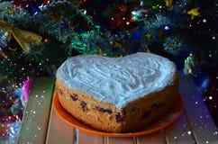 Torta de Cristmas Foto de archivo libre de regalías