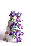 Torta de cuatro gradas Imagen de archivo libre de regalías