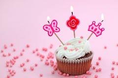 Torta de cumpleaños Imagen de archivo