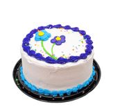 Torta de cumpleaños Fotografía de archivo