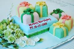 Torta de cumpleaños para la especial Imagen de archivo