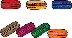 Torta de diverso color Imágenes de archivo libres de regalías