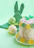 Torta de easter da coalhada Fotos de Stock