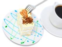 Torta de esponja Fotografía de archivo libre de regalías