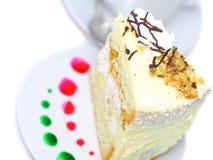 Torta de esponja Fotografía de archivo